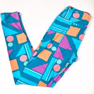 LuLaRoe | Colorful Geo Print Legging